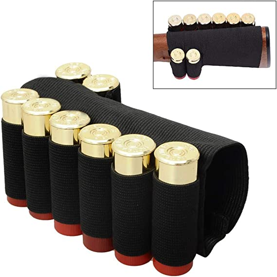 CS Force Shotgun Shell Bandolier Belt 12/20 Gauge Ammo Holder for Tactical Military Hunting(29 Rounds