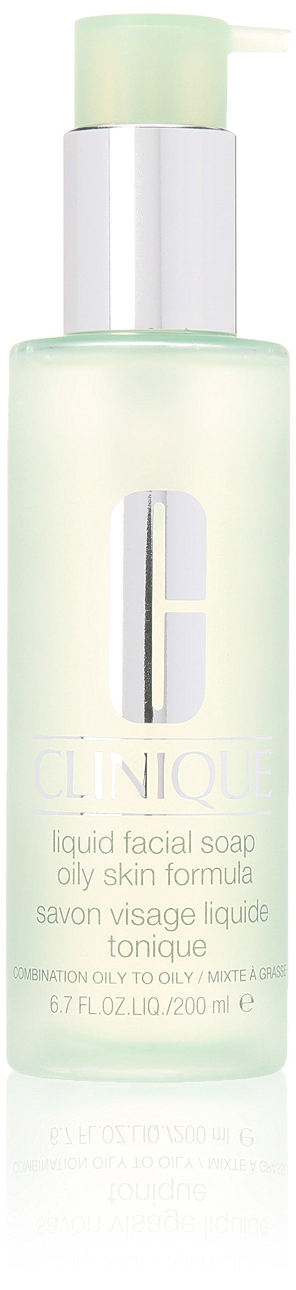 Clinique Liquid Facial Soap Oily Skin Formular 6F39 for Unisex, 6.7 Ounce