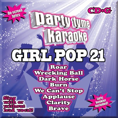 Party Tyme Karaoke - Girl Pop 21 [8+8-song CD+G]
