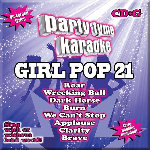 Party Tyme Karaoke - Girl Pop 21 [8+8-song (Karaoke Top)