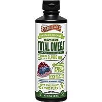 Barlean's Organic Oils Total Omega Swirl Vegan Flax/Borage Pomegranate Blueberry...