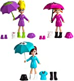 Polly Pocket Mattel Polly Pocket Rainy Day Playset X1212