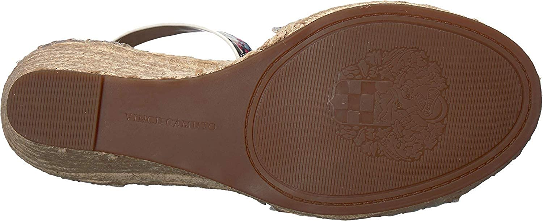 e355eeef43 Amazon.com | Vince Camuto Women's Leera Espadrille Wedge Sandal | Platforms  & Wedges