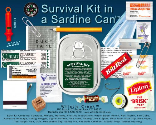Whistle Creek Survival Kit