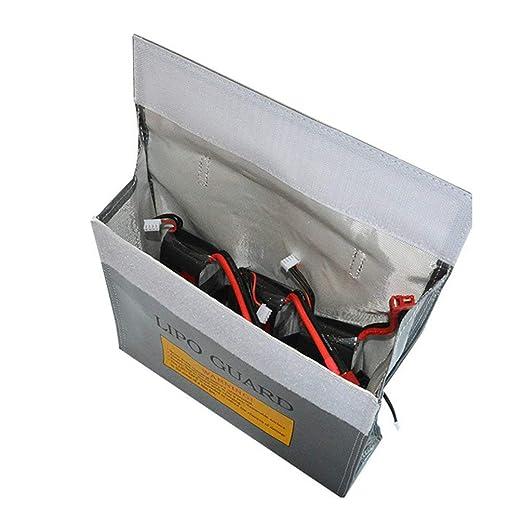 Amazon.com: Bolsa de protección de batería Bolsa a prueba de ...