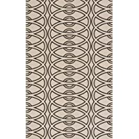 Momeni Rugs ELEMTEL-29IVY2030 Elements Collection, 100% New Zealand Wool Hand Carved Contemporary Area Rug, 2 x 3, Ivory
