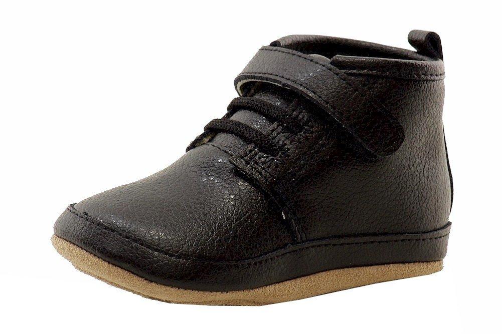 Robeez Team Adventure Mini Shoe (Infant), Black, 6-9 Months M US Infant by Robeez