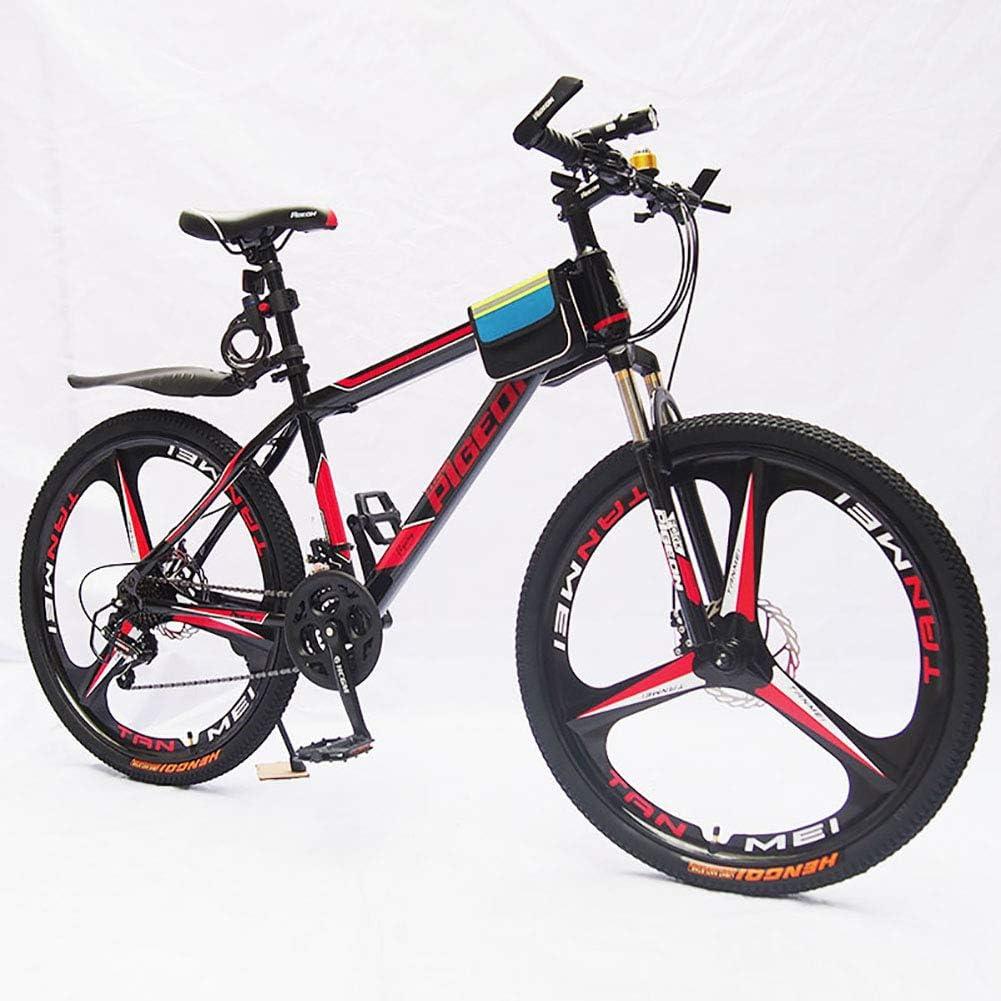 HECHEN Bicicleta de montaña de una Rueda - Frenos de Doble Disco ...