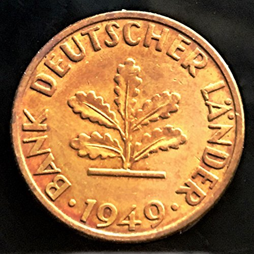 Unbranded 1949 GERMANY 5 PFENNIG COINMINT CONDITION B6D174