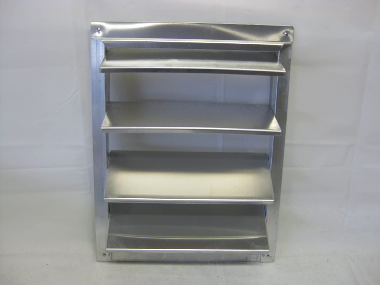 Aluminum Dog House Louver Vent Adjustable 12 w x 15h