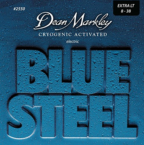 Dean Markley 7-String Blue Steel Electric Guitar Strings, 9-