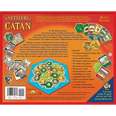 The Settlers of Catan: Toys & Games