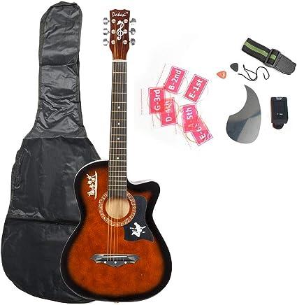 2018 DK-38C - Juego de correas para guitarra de madera de borla ...