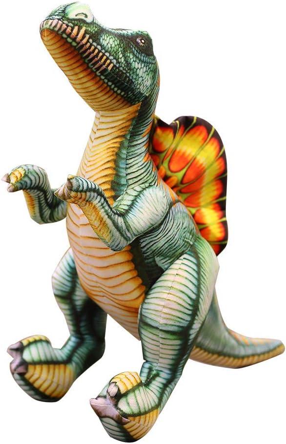 suxiaopei Simulación de Dibujos Animados Dinosaurio Columna Vertebral dragón muñeca Peluche Juguete Almohada muñeca muñeca niño Regalo de cumpleaños Aproximadamente 1 Metro Spinosaurus