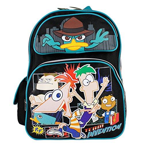 Misura: Invention Team-Zaino, motivo: Phineas e Ferb, motivo: Phineas e Ferb donne e ragazze