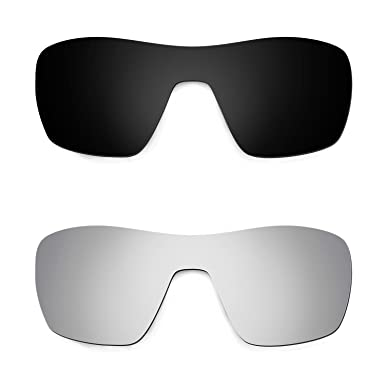 HKUCO Plus Mens Replacement Lenses For Oakley Jupiter Squared Sunglasses Black Polarized 8tWgIGK