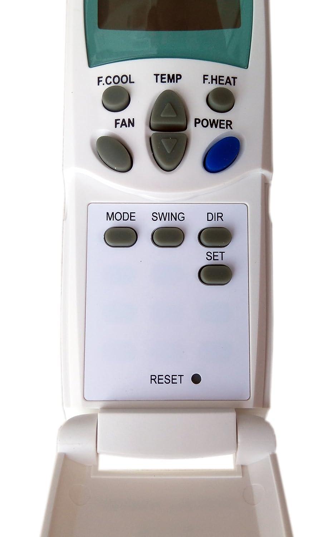 KT-LG - Mando a distancia para aire acondicionado inverter con bomba de calor LG: Amazon.es: Hogar