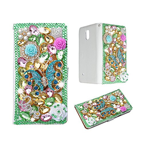 spritechtm-bling-cellphone-case-for-lg-g5pu-leather-wallet-slim-fold-cover-3d-handmade-shining-rhine