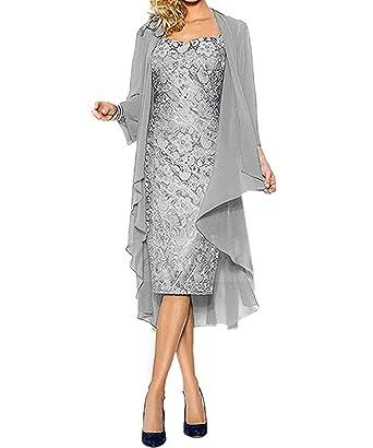 vipgowns Robe de Soirée Genou Longueur Femme Élégante Femmes Robe de Cérémonie  Cocktail Femme Robe c67e4fdfc9ef