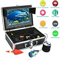 MAOTEWANG 9 Inch TFT Color Monitor 20M 1000tvl Underwater Fishing Video Camera Kit 12 PCS LED Lights