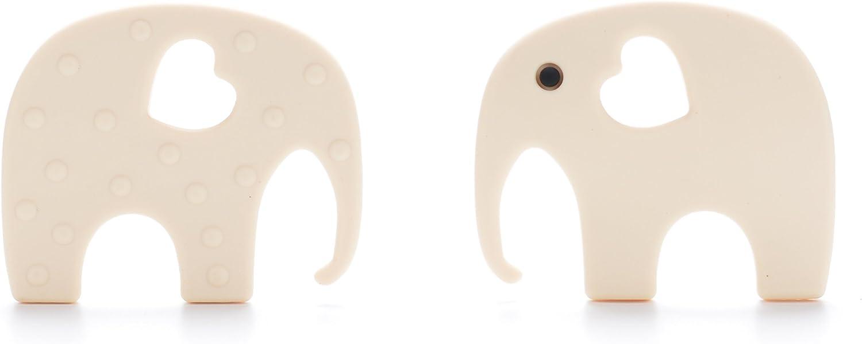 Ecologique Sans BPA Anneau de Dentition Hippocampe en Silicone Antibact/érien pour B/éb/és Bleu BIO et Naturel Jouet pour soulager la g/êne des dents et des gencives