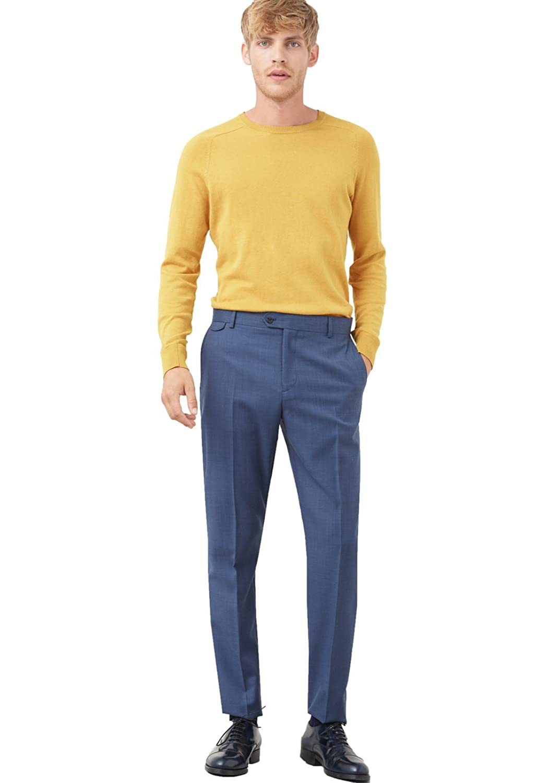 MANGO MAN - Slim-fit wool suit Formal trousers