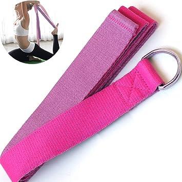 CWDXD Yoga Strap Bandas de Resistencia Cinturón elástico de ...