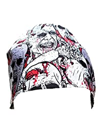 Sew1ForMe! Men's Scrub Cap Zombies, Handmade, Double Cotton