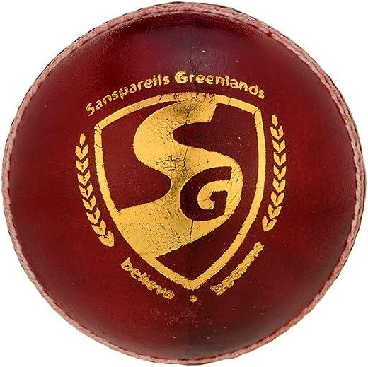 SG Club Cricket Ball - RED