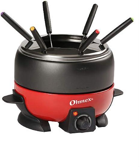 Ohmex OHM-FND-1000G- Hornillo de fundición (800 W, termostato ...
