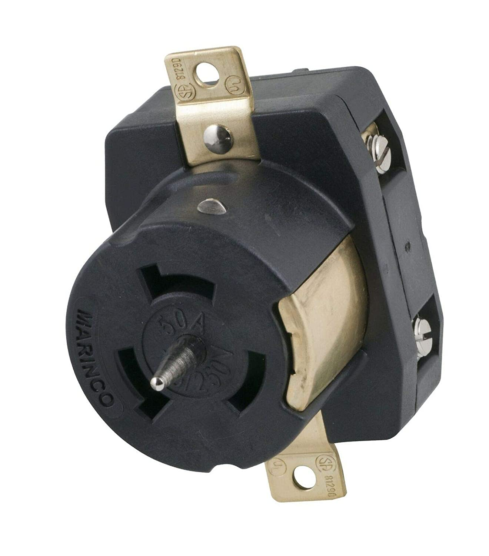 Marinco CS6369 50 Amp 125 Volt//250 Volt Receptacle