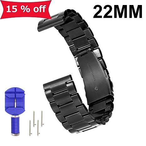 Moto 360 2 nd reloj Band, de repuesto para mujer 16 mm/20 mm/22 mm, ...