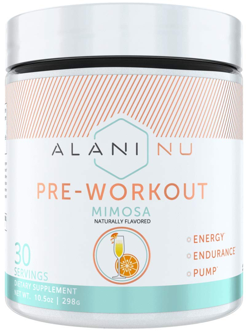 Alani Nu Pre Workout Powder w/Caffeine, L-Theanine & Beta Alanine, Mimosa, 30 Servings … by Alani Nu (Image #1)