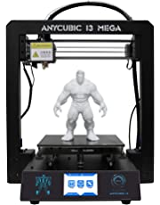 TRIGORILLA ANYCUBIC I3 Mega 3D Printer All Metal Printing with Patented Ultrabase Heated Bed for 1.75mm Filament PLA/ABS/HIPS/Wood