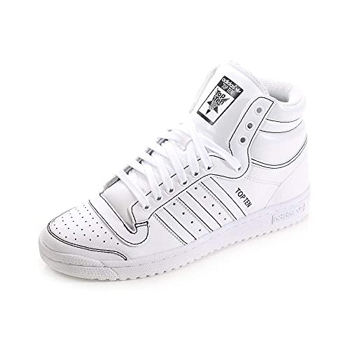 Zapatillas Adidas Top Para HombreBlanco Hi Originals Altas Ten Sc5LR3q4Aj