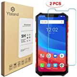 [2 Pack] Ytaland Screen Protector for Ulefone Armor 6E / Armor 6S / Armor 6, [ Anti-Fingerprints ] [0.3mm, 2.5D] [Bubble-Free] [9H Hardness] Tempered Glass Screen Protector for Ulefone Armor 6S