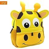 Lulutus Little Kids Cute Animals Backpack Preschool Bags Waterproof for Toddler