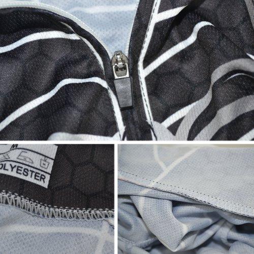 Baleaf Short Sleeve Cycling Jersey Spider Men's Style Black XXL
