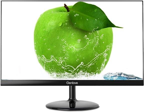 Monitor Monitor De 21,5 Pulgadas Sin Bordes Ordenador LED, LCD Plana Pantalla De Alta Definición De La Pantalla WLED Ultra-Delgado, Oficina De Juego De Escritorio 178 ° De Visión Amplio Visualización: Amazon.es: