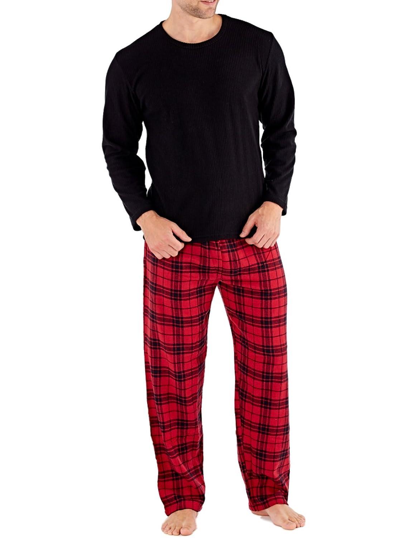 Harvey James - Sets de pijama Hombre - Rojo - L: Amazon.es: Ropa y accesorios