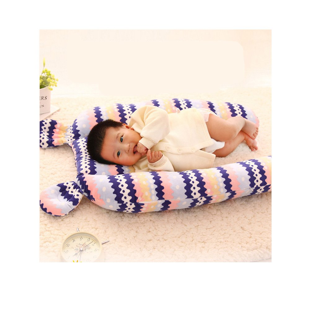 Infant Safety Sleeping Bed Surrounding Baby Safety Barrier to Prevent Collision Crash Pad Sleep Magic (Yellow)