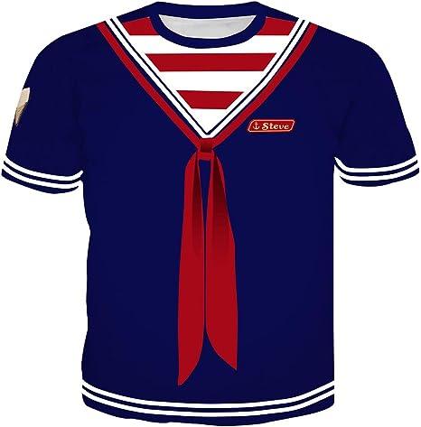 Camiseta Stranger Things Niño, Unisex Camiseta Stranger Things ...