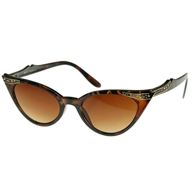 KISS Gafas de sol CAT EYE mod. PIN-UP CRYSTALS - vintage ...