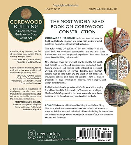 Brilliant Cordwood Building A Comprehensive Guide To The State Of The Art Wiring Digital Resources Helishebarightsorg