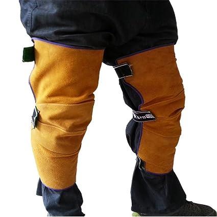 JZDCSCDNS Protección De Pierna Resistente Al Desgaste Aislamiento Resistencia A Altas Temperaturas Anti-Caliente Musleras