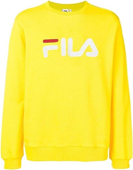 Fila Pure LS 681092-589 - Camiseta para hombre, color amarillo: Amazon.es: Ropa y accesorios