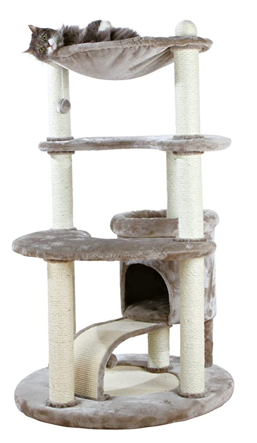 Trixie Patricia rascador para gatos, 140 cm, color gris plateado
