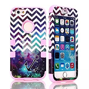 iPhone 6 case,iPhone.6 case,Creativecase Carryberry new fashion 3in1 Hybrid Cute Design Hybrid iPhone 6 4.7 inch Case Cover for iPhone 6