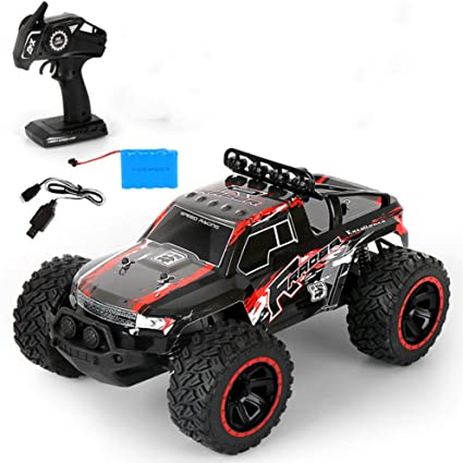 Amazon Com Petrloy 4x4 Rc Crawlers 30km H High Speed Remote Control Car For Kids Adults 2 4ghz Waterproof Remote Control Monster Truck Rc Rock Crawler Excitement In Water Mud And Snow Gifts For Boys