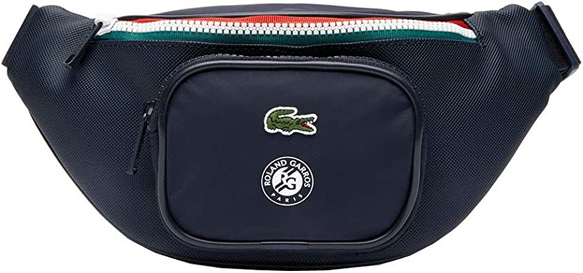 Lacoste Roland Garros Waistbag Peacoat Verdant Green Mol: Amazon.es: Zapatos y complementos